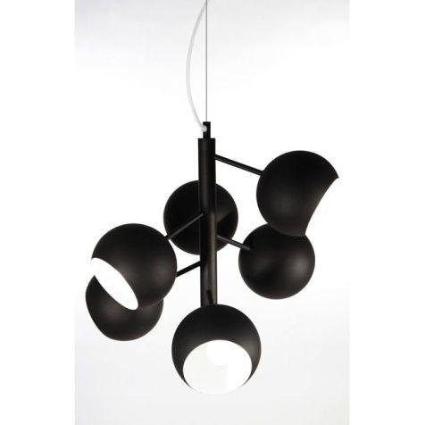 rondo-svart-taklampa